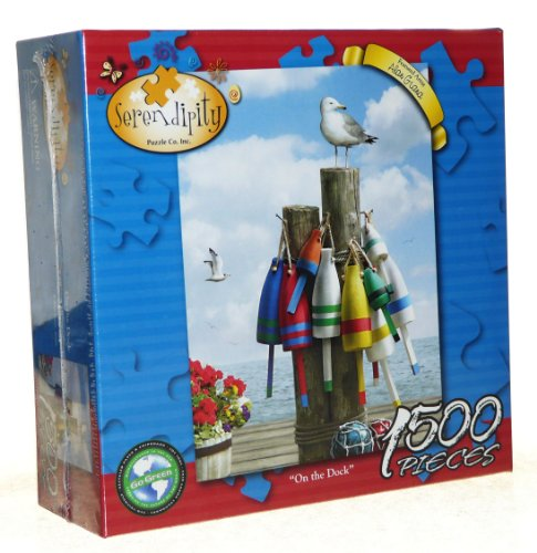 Serendipity Jigsaw Puzzle - On The Deck - Artist Alan Giana - 1500 Pieces