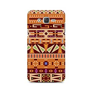Mobicture Tribal Pizza Premium Printed Case For Samsung J7 2016 Version