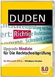DUDEN Die Rechtschreibprüfung Upgrade Medizin, Korrektor 8.0