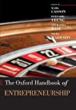 img - for The Oxford Handbook of Entrepreneurship (Oxford Handbooks in Business & Management) book / textbook / text book