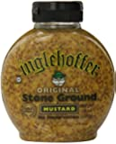 Inglehoffer Stone Ground Mustard, 10-Ounce Squeezable Bottles (Pack of 6)