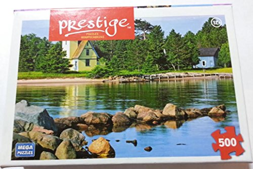 Morning Light Bette Grise Lighthouse Puzzle 500 pieces