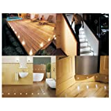 SET OF 10 WATERPROOF LED WHITE DECK LIGHTS / DECKING / PLINTH / KITCHEN LIGHTING SETby LEDER