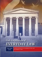 Gale Encyclopedia of Everyday Law: 2 Volume Set