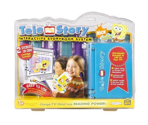 Jakks Pacific Toymax Telestory Console W/ Spongebob Cartridge - Buy Jakks Pacific Toymax Telestory Console W/ Spongebob Cartridge - Purchase Jakks Pacific Toymax Telestory Console W/ Spongebob Cartridge (Jakks Pacific, Toys & Games,Categories,Electronics for Kids,Learning & Education,Toys)