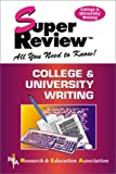 img - for College & University Writing Super Review book / textbook / text book