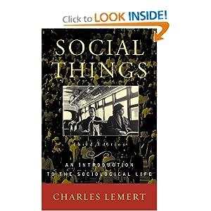 Social Things - Charles Lemert