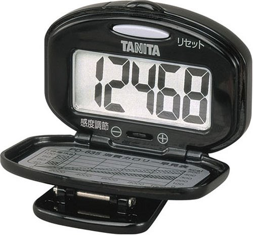 Pedometer Tanita Pd-635 Bk (Tanita)