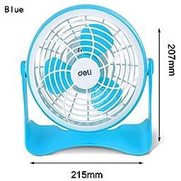 TOYM US- Computer USB mini fan small fan ( Color : Blue )