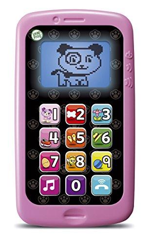 Leap Frog - Telefono movil, habla y cuenta, Violeta (Cefa Toys 00883)