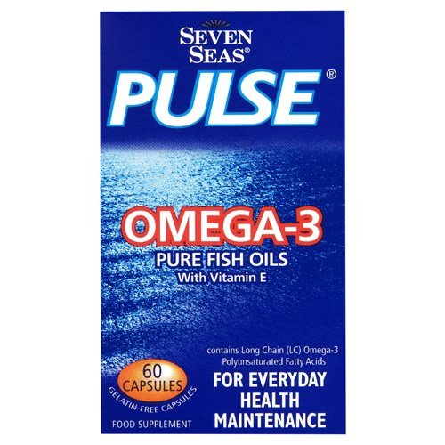Seven Seas Pulse Omega-3 Pure Fish Oil 60 Capsules