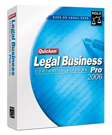Quicken Legal Business Pro 2006 [Old Version]