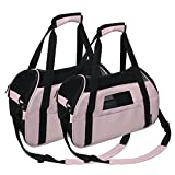 Jespet Portable Comfort 17-Inch Soft Sided Pet Carrier Airline Travel Cat/Dog Small Animals Tote Bag