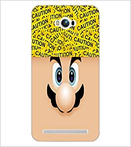 PrintDhaba Cartoon D-4238 Back Case Cover for ASUS ZENFONE MAX ZC550KL (2016) (Multi-Coloured)