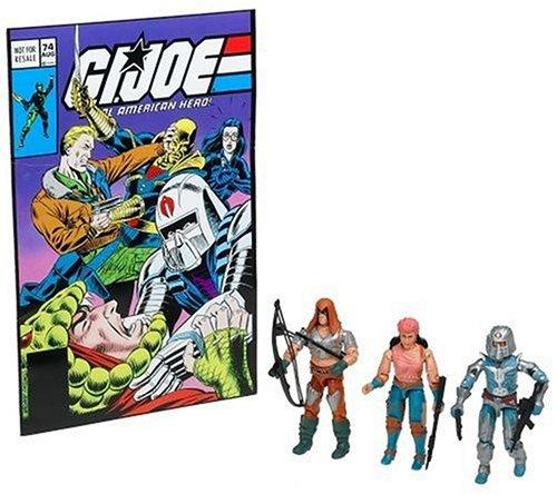 G.I. Joe Comic Pack mit Zartan, Cobra Commander & Zarana – Classic Collection Actionfigurenset von Hasbro als Geschenk
