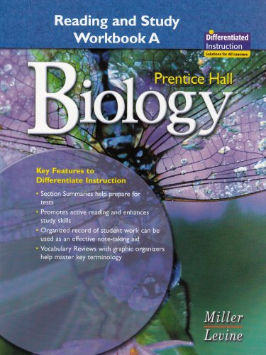 Biology: Reading And Study Workbook A