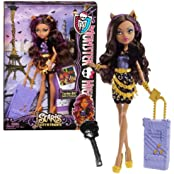 "Mattel Year 2012 Monster High ""Scaris City Of Frights"" Deluxe Series 11 Inch Doll Set - Clawdeen Wol"
