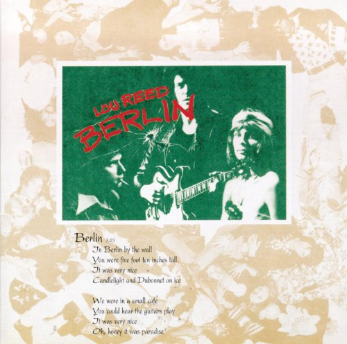 Lou Reed – Berlin (1986) [FLAC]