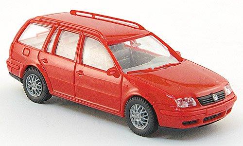 VW Bora Variant, rot, Modellauto,
