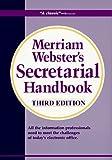 Merriam-Webster's Secretarial Handbook