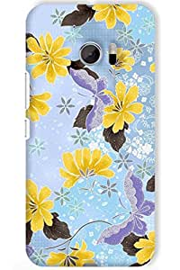 IndiaRangDe Hard Back Cover FOR HTC One M10