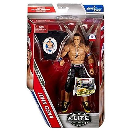WWE Série Elite 50 Figurine D'Action - John Cena Avec/ Accessoires