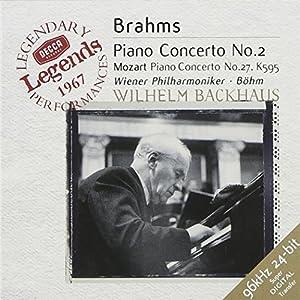 Brahms : Concerto pour piano n° 2 - Mozart :  Concerto pour piano n° 27