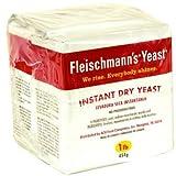 Fleischmann's Instant Dry Yeast 1lb bag ~ Fleischmann's