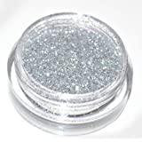 Silver Eye Shadow Loose Glitter Dust Body Face Nail Art Party Shimmer Make-Up