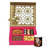 Chocholik Belgium Chocolates - Lovely Collection Of Almonds, Truffles, Butterscotch And Baklava Gift Box With... - B015RAIYTG