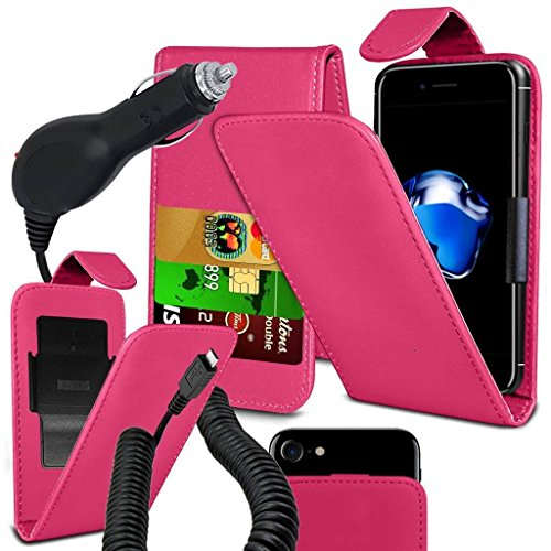 coolpad-rogue-case-super-essentials-pack-clamp-spring-style-cuir-pu-wallet-chargeur-pink