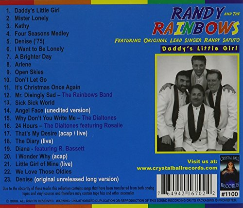 Original album cover of Daddy's Little Girl 23 Cuts by Randy & The Rainbows