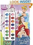 Pretty Princess Paintings (Disney Princess) (Deluxe Paint Box Book)