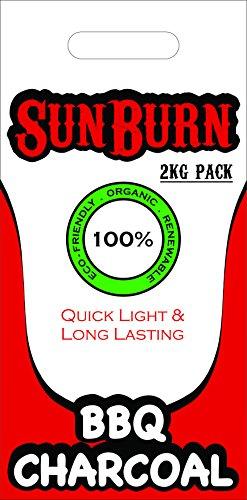 SunBurn Wood Charcoal Briquette (Charcoal)