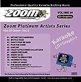 Zoom Karaoke CD+G - Platinum Artists 44: Queen 2