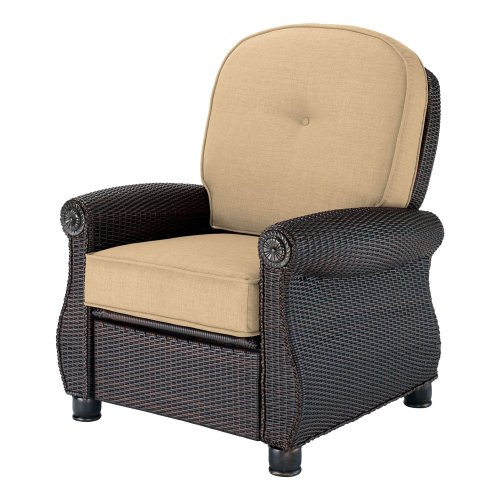 Breckenridge Patio Recliner (Sand) by La-Z-Boy Outdoor picture