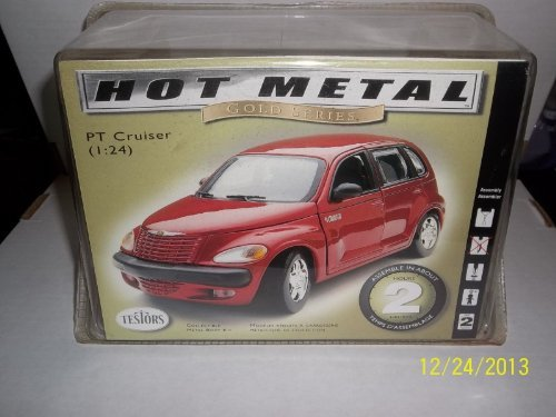 PT CRUISER (1:24) - Hot Metal Gold Series - Collectible Metal Body Kit