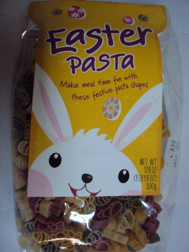 Easter Pasta (Easter Egg, Easter Bunny and Chick Shaped) 16oz Product of Italy (Easter Pasta compare prices)