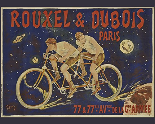 Vintage Metal Bicycle Sign