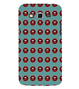 EPICCASE red lips Mobile Back Case Cover For Samsung Galaxy Grand Neo (Designer Case)