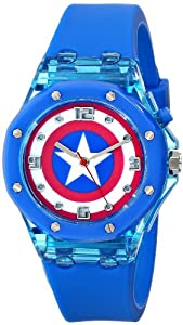The Avengers Kids' CTA3130 Analog Display Analog Quartz Blue Watch