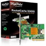 PCI-E 2.0 x8 Host Interface. 4x SATA 6Gb/s ports(supports 3Gb/s and 6Gb/s HDD/SSD). Combine a hard disk of your choice w