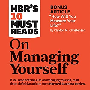 HBR's 10 Must Reads on Managing Yourself Hörbuch