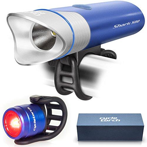SUPERBRIGHT Bike Light USB Rechargeable LED - FREE