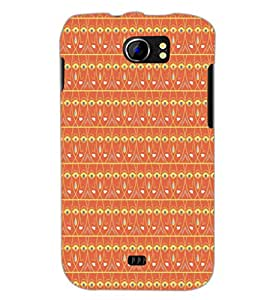 PrintDhaba Pattern D-5214 Back Case Cover for MICROMAX A110 CANVAS 2 (Multi-Coloured)