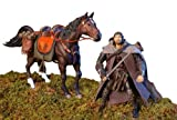 Lord of the Rings - Aragorn & Brego deluxe action figure set