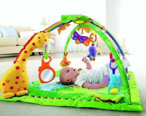 Fisher price k4562 eveil tapis de la jungle your - Tapis d eveil fisher price zoo deluxe ...