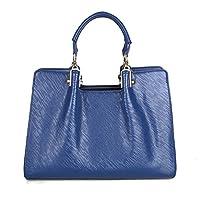 Kattee Women's Toothpick Grain Leather Tote Shoulder Bag