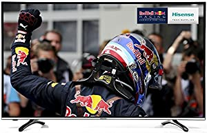 Hisense 49 inch Widescreen 4K 3D Smart LED TV with Freeview HD - Black