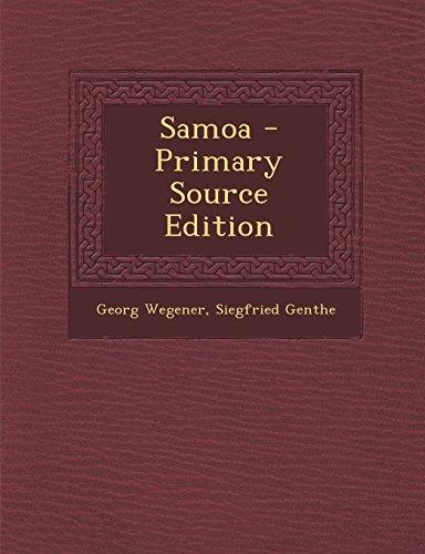 Samoa - Primary Source Edition